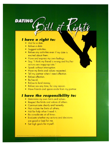 Dating service consumer bill of rights